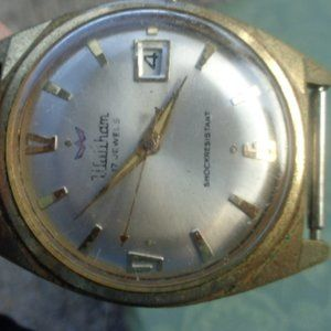 Waltham Mens 17 Jewel Manual Wrist Watch W…